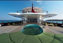Luxury yachts / Photos of some of the world's most luxurious and exclusive luxury yachts | http://butterflyyachting.com