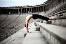 Männer-Yoga / Yoga für und von Männern.