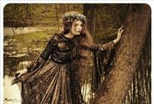 Melancholy Mori / Blackforest Mori, Strega, Witchy, Bohemian, and Gypsy fashion / by Jade Heffner