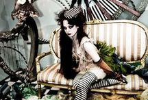 Wayward Victoriana / Kitschy, Eccentric Neo-Victorian and Edwardian; Night Circus; Alice in Wonderland; Ragged Romantics; Vintage Burlesque, etc. See my other boards for Gothic Victorian, Show Girls, Gothic Tea Party, and other similar styles. / by Jade Heffner