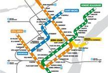 #toujourspratique / Truc pratique, bonne adresse, map, trajet, plan de métro etc...