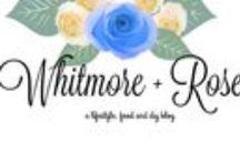 W H I T M O R E + R O S E / Lifestyle, Food and DIY Blog
