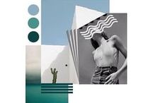 Daily moodboards / Fashion moodboards & collages. Inspiration colors, styles, silhouettes, events and locations.