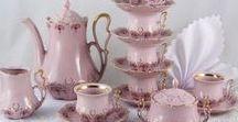 Růžový porcelán CZ