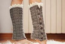 Leg warmers, boot cuffs