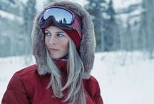 Apres // Ski / Hit the Slopes in Style and look good while sipping a Hot Toddy when you hit the Lodges