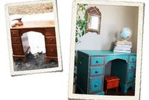 Before and After / Before and after furniture makeovers, and upcycling