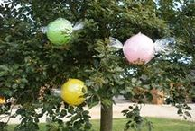 Air-filled Balloon Creations / Concerned about the helium shortage? Be inspired by these air-filled balloon creations.