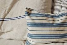 linens / cotton fibres, linens and textures, quilts and feathers