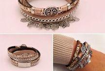 Bracelets / Bracelets tendance strass, double tour, manchette...