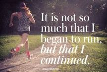Fitness Quotes / These quotes are great to keep you going even when the burn is a little to much! Keep your eye on the finish line!