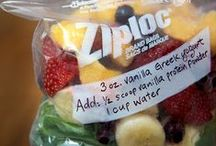 Good, Healthy Snacks / Snacking is inevitable. Don't beat yourself up over it; just snack the right way!