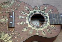 Ukulele + guitar
