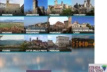 Cities in the area of Lake Trasimeno - I nostri luoghi / appealing pictures of / suggestive immagini di Castiglione del Lago, Città della Pieve, Corciano, Magione, Paciano, Panicale, Passignano, Piegaro, Perugia, Tuoro e Umbertide