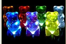 rainbow - gummy bears / shhh....
