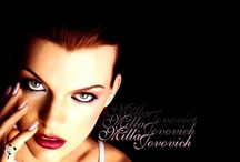 """GIRLS AND GLAMS - MILLA JOVOVICH / music channel VH1 has referred to her as the """"reigning queen of kick-butt"""". BORN ON December 17 of 1975, in Kiev,  Ukrainian SSR, former Soviet Union"""