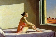 ART ☰ Edward Hopper / Edward Hopper (July 22, 1882 – May 15, 1967) was a prominent American realist painter and printmaker. While he was most popularly known for his oil paintings, he was equally proficient as a watercolorist and printmaker in etching. Both in his urban and rural scenes, his spare and finely calculated renderings reflected his personal vision of modern American life.