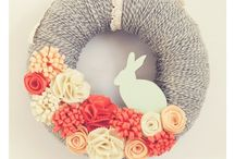 Spring Has Sprung / Easter and Spring decor, crafts and recipes