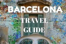 Barcelona / Barcelona is the city who was it all for travelers: sea and beach, tapas, Gaudi, modernism and much more.