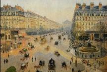 PARIS dans la peinture