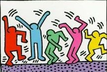 ART ☰ Keith Haring / Keith Allen Haring (May 4, 1958 – February 16, 1990) was an artist and social activist whose work responded to the New York City street culture of the 1980s by expressing concepts of birth, death and war. Haring's imagery has become a widely recognized visual language of the 20th century.