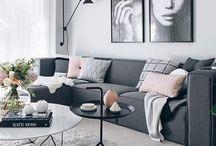 Lounge Decor / home / interior / decor / decoration / design / lounge / living area