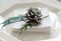 Christmas weddings / Inspiration for a Christmas wedding.