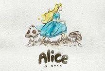 Alice in Wonderland ⋘ / by Anna Mancini
