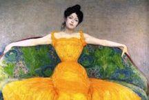 ART (Yellow dress)