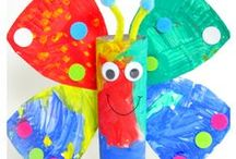 Spring Crafts / Spring crafts, spring activities, spring games, spring DIY projects, and spring fun! Mother's Day crafts, Cinco de Mayo, and lots of other spring fun!