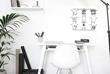 Home Office Decor / Home office / study / study room / home business / office organization / office interior / office design / startup office
