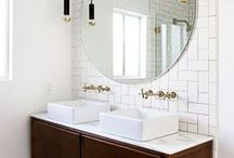 Bathroom interior / home / interior / decor / decoration / design / bathroom