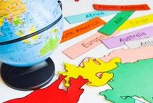 Teaching Geography / Creative ways to teach geography to kids of all ages. Geography lesson plans, geography unit studies, hands-on geography, geography worksheets, and more!