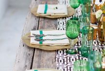 Party / Amazing ideas for throwing a fabulous party on a budget.  Beautiful tablescapes and DIY party favors.