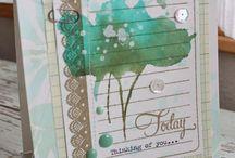 Card Ideas / Handmade greeting card obsession.  / by Autumn Clark