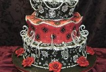 CAKE: it's what's for dinner / Beautifully detail cakes that look too good to eat! / by Jennifer Vera