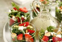 Salads 1~ Lettuce Eat Salad  / Salads of the veggie type...lettuce, slaws, etc.