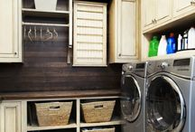Laundry Room / What my laundry room could be, should be, and ought to be.  Laundry room love.
