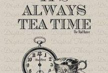 tea wonderland / tea and alice in wonderland / by Colleen Stitch Turner