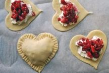 Love you BERRIES much.  :) / Varieties of food using every kind of berry.