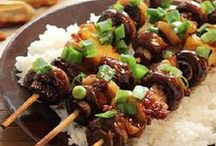 Shish'd & Skew'd  (Kabobs & Toothpick Foods) / Whether a kabob skewer or a toothpick, we like skewed finger food. Something about it makes it seem festive, even if it's not a party. / by Best Recipes Magazine