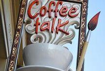 Con un café