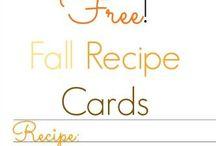 TFT - Tutorials, Fonts, & Templates / Templates, labels for jars, recipe cards, etc.