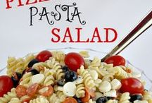Salads 2 ~ Not the lettuce type. / Salads other than the green type...jello, pasta, chicken, etc.