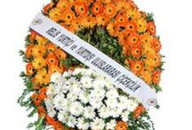 Funeral | Cenaze / Send funeral flowers and sympathy flowers with Melis Flowers if you want beautiful flowers at great prices. We deliver high quality hand-made funeral arrangements anywhere in the Turkey