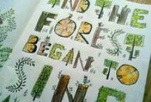 5. Typographic illustration