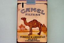 sigara paketleri / by Tuncay Andic