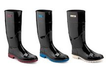 Wellington Boots / Here pvc wellington boot designed by Chiara Bellini to go around in rain with style!