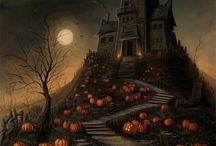 Halloween Inspired Art / Art pieces inspired by Halloween / by Jennifer Vera