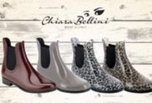 Chelsea Boots / Here the pvc chelsea boots designed by Chiara Bellini!